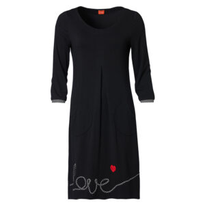 Du Milde Kleid Bines Black Love