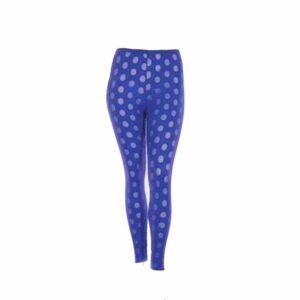 Boris Industries Legging transparent azur blau in großen Größen
