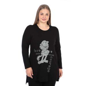 CN-G Jersey Shirt schwarz Garfield grau