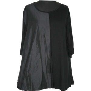 AKH Shirt Jersey taft schwarz schwarz