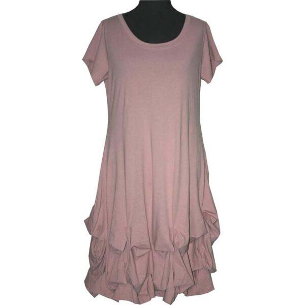 Boris Industries Kleid verspielt rosa