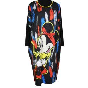 Darkwin Jersey Kleid Mini Mouse