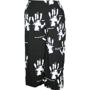 Kischella Design Hose schwarz Händedruck