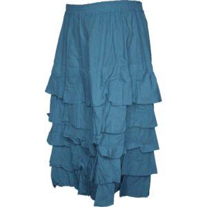 Privatsachen Rock Pusteblu blau indigo