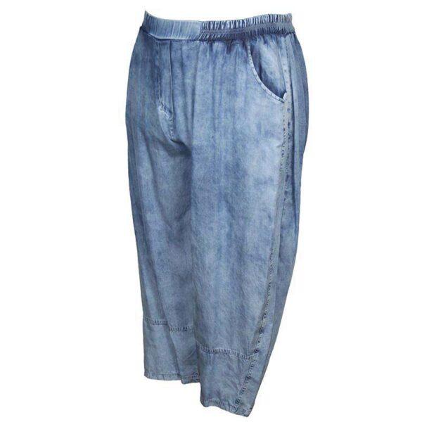Zedd Plus Jeans Hose blau Seite