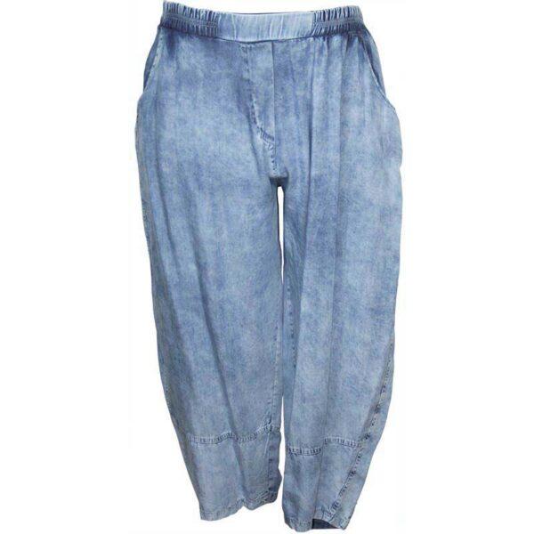 Zedd Plus Jeans Hose blau Vorne