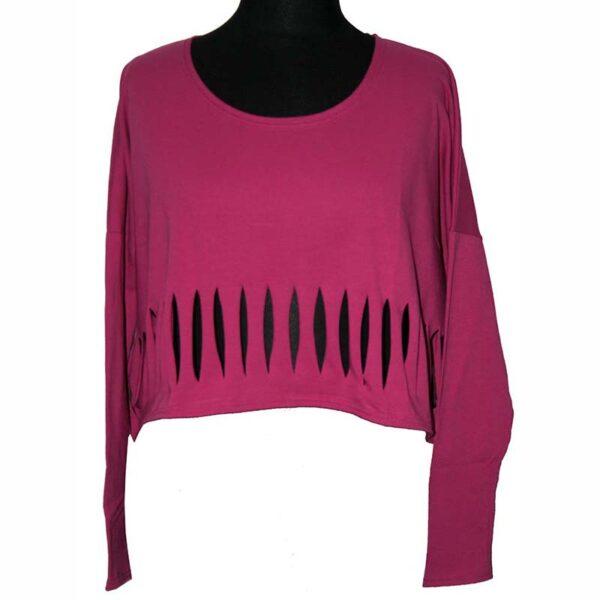 Boris Kurz Shirt Cut-Out pink