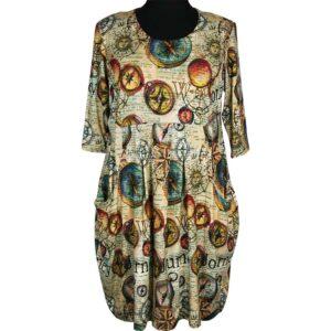 Naveed Kleid Nautilus Vorne