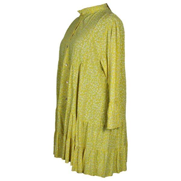 Blusen Tunika gelb Seite