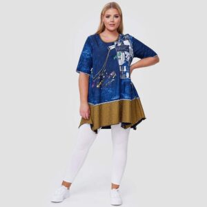CN-G T-shirt jeans curry Vorne